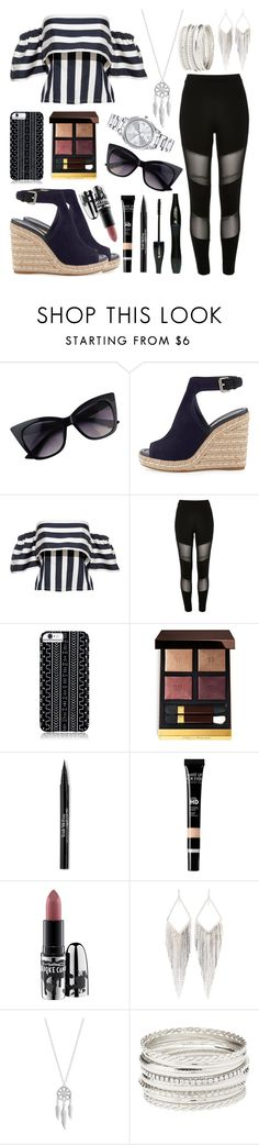 """Lunch Date"" by elivaughan ❤ liked on Polyvore featuring Prada, River Island, Savannah Hayes, Tom Ford, Lancôme, Trish McEvoy, MAC Cosmetics, Jules Smith, Lucky Brand and Charlotte Russe"