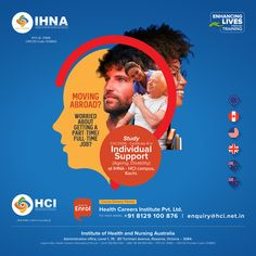 Are you moving abroad, and worried about whether you'll be able to get a job? With Certificate III in Individual Support, you can have a career that will always be in demand! Study this certification course at the IHNA-HCI campus, Kochi, and future-proof your career! For more details, contact +91 8129100876 #IHNA #Nursingcollege #Australia #HCI #AgeingSupport #IndividualSupport #CertificateCourses #Kochi Nursing Australia, Nursing Courses, Becoming A Nurse, Acute Care, Education And Training, College Fun, Career Development, Kochi, Early Childhood Education