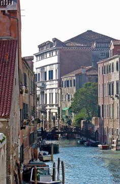 Canals In Venice - Color everywhere along the Venice canals   #photo #photography #travel