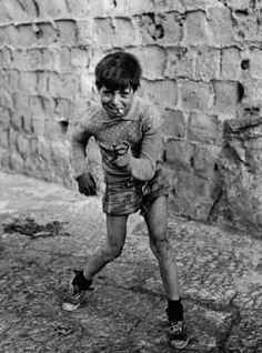 Mario Cattaneo, Napoli, Italia 1950