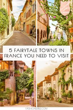 Southwest France Travel Guide to 5 Amazing Towns - Grace J. Silla : hidden gems in southwest France Europe Destinations, Europe Travel Tips, European Travel, Travel Guide, Holiday Destinations, Cool Places To Visit, Places To Travel, Places To Go, Instagram Inspiration