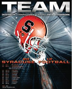 2012 #cuse Football team has hopes of winning the Big East this year.