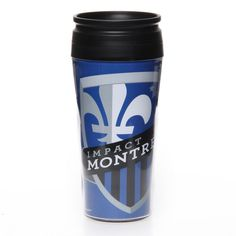 Montreal Impact WinCraft Travel Mug Red Bull, Montreal, Travel Mug, Mugs, Fitness, Sports, Products, Tumbler, Sport
