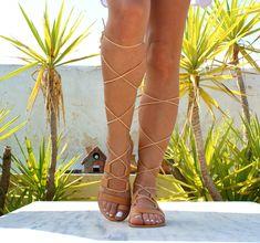 Bridal Sandals, Lace Up Sandals, T Strap Sandals, Women's Sandals, Leather Gladiator Sandals, Ancient Greek Sandals, Roman Sandals, Open Toe Flats, Natural Leather