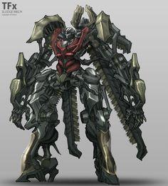 ArtStation - TRANSFORMERS X Dinobots Concepts | MECH MODE, Hoi Mun