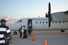 Heading home from the out islands in Bahamas.