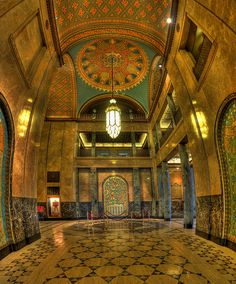 Fisher Building Lobby - Detroit...