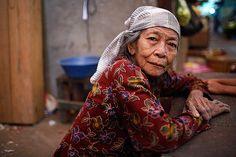 Portrait from the market - Surabaya, Indonesia