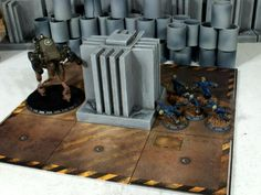 """TERRAIN BUILDING : OBSTICLES/BARRICADES SUITABLE FOR JUST ABOUT ANY GAME   """"CLASSIC"""" DUST IS WARRRRRRRRR!!!!!!!!!!!!!!!!!!!!!!!!!!!!!!!!!!!!..."""