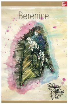 Edgar Allan Poe Book Cover, made by Alejandra Arroyo