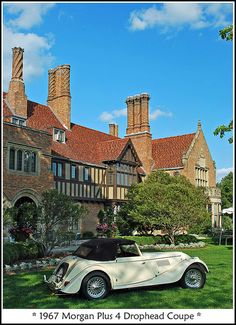 Meadow Brook Concours d'Elegance at Rochester, Michigan, USA. Most Awesome fancy car show!