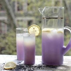 LAVENDER TEA ON ICE:     You can get fresh lavender from your local health food store like Whole Foods    Steep for about 7 to 10 minutes. Then strain, I also add Young Living Lavender Oil. I start with a toothpick and dip it in the oil. add to taste. For a sweet tea I add Young Living Blue Agave, a couple drops of YL Lemon Oil then pour over ice and just enjoy!  (I have also made the tea without the fresh lavender, it just doesn't have the pretty lavender color.)