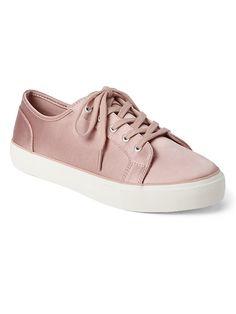 Satin Sneakers. I need!