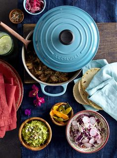 Le Creuset Dutch Oven in Turquoise