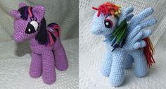 Mi Pequeño Pony Amigurumi ~ Patrón Gratis en Español losenredosdelyanne.blogspot.com.es/2013/09/patron-gratuito-mi-pequeno-pony.html?m=1