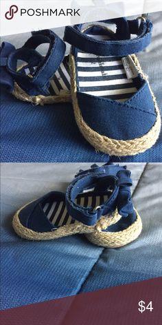 Garanimals espadrilles Size 2, closed toe espadrille sandals. Gently used :) garanimals Shoes Sandals & Flip Flops