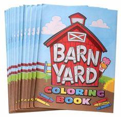 Gift Corral Coloring Book Barnyard 12Pk by JT. $4.95. 12 Pack Barnyard Coloring Books