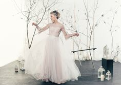 Hollywood Glamour, Finland, Aurora, Collaboration, Tulle, Students, Photoshoot, Wedding Dresses, Skirts