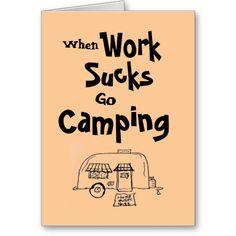 Funny Caravan Camping Motorhome Smiley Sign New Wall