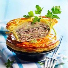 Tourte de pommes de terre à la viande hachée