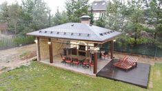 Gazebo, Outdoor Structures, Exterior, Kiosk, Pavilion, Outdoor Rooms, Cabana