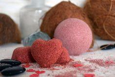 Cosmétique maison : bombe de bain au bicarbonate par Joli'Essence