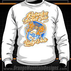 Tennessee Lady Vols Sweet Tea long sleeve tshirt Mountain Designs, Sweet Tea, Graphic Sweatshirt, T Shirt, Tennessee, Orange, Lady, Sweatshirts, Long Sleeve