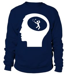# Only Badminton On My Mind T shirt .  Only Badminton On My Mind T-shirt