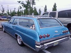 1965 Chevrolet Impala Station Wagon  by Custom_Cab, via Flickr