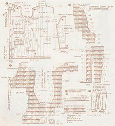 Kraina wzorów szydełkowych...Land crochet patterns..: płaszcz