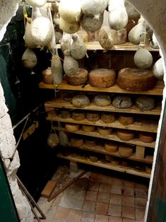 Cheese Cave, Wine Cheese, Root Cellar, Wine Cellar, Food Storage, Fromage Cheese, Italian Cheese, Goat Farming, Larder