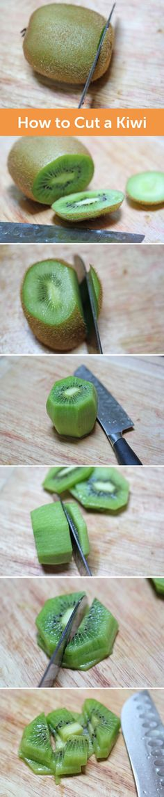 Learn how to properly cut a kiwi with this step-by-step how-to. Say goodbye to that fuzzy skin and enjoy a fruit salad with delicious kiwi chopped like a pro.