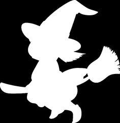 174 Vinyl Decal Witch Halloween Silhouette U Pick Color