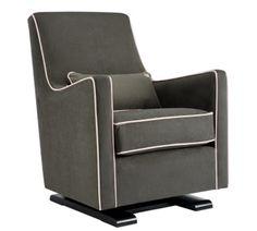 luca glider chair - modern nursery furniture by Monte Design  $995
