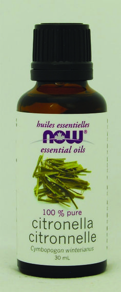 Now Citronella Oil 30 ml | Sunrise Health Foods
