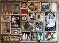 Tim Holtz Configurations Tray *Let's Capture Our Memories* - Scrapbook.com