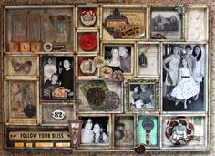 Tim Holtz Configurations Tray *Let's Capture Our Memories* - Scrapbook.com