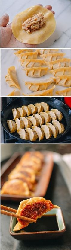 Gyoza recipe by the Woks of Life