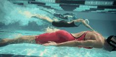 The swimmer who forgot farts make bubbles.