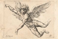 View Der Sturz des Ikarus after Giuseppe Cesari by Raffaello Guidi on artnet. Browse upcoming and past auction lots by Raffaello Guidi. Angel Wings Painting, Angel Drawing, Angel Art, Cherub Tattoo, Angel Flying, Engraving Printing, Christian Artwork, Tattoo Sketches, Art Sketchbook