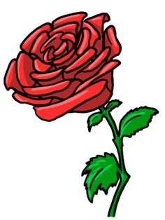red rose clipart Rose Clipart, Flower Clipart, Orange Roses, Purple Roses, Flower Art Images, Drawing Programs, How To Make Drawing, Balloon Flowers, Parts Of A Plant