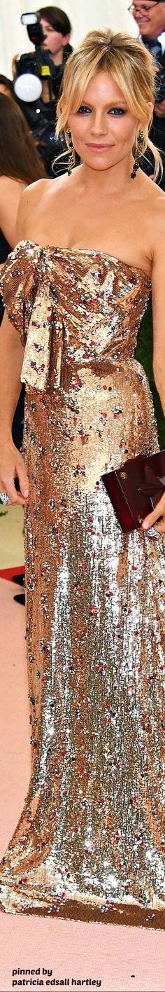 Sienna Miller in Gucci, 2016 MET GALA