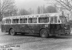 Paris - Autobus - Les Chausson APH restèrent toujours marginaux dans le parc routier de la RATP. Ces autobus bruyants et inconfortables passeront une grande partie de leur carrière sur quelques lignes secondaires du réseau et ne laisseront aucun souvenir lors de leur disparition en 1968.