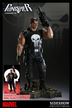 Punisher Statue By Sideshow Collectibles