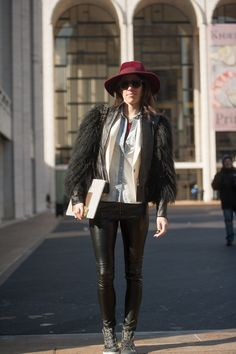 Spotted by Socialbliss Street Style #nyfw #thestylebox #streetstyle