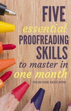 Proofreading is important. It can make your work seem either professional or sloppy. Being able to proofread your own work is essential to your success as a writer. Tips to improve writing skills. Home Based Work, Work From Home Jobs, Editing Writing, Writing Tips, Writing Images, Improve Writing, Writing Skills, Creative Writing, Earn Money From Home