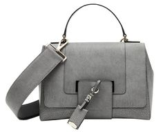 Jil Sander Gray Manga Madam Bag.