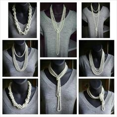 how to wear necklaces - Google Search