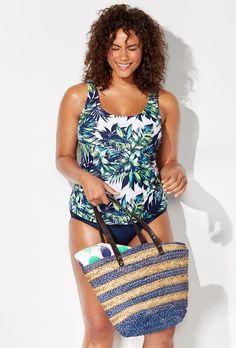 SwimsuitsForAll - Beach Belle Beach Belle Lulav Classic Tankini -  AdoreWe.com 0448f393a