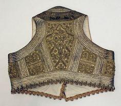 Wedding ensemble/ late 19th century / Albanian / silk, cotton, metallic thread